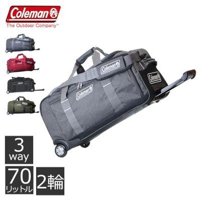 コールマン coleman ボストンキャリー ボストンバッグ 大容量 旅行バッグ メンズ 3泊 スポーツ キャンプ レジャー スキー スノボー 人気