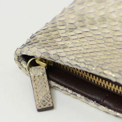 5ce4658d15a3 日本の職人が丹精込めた『名品ウォレット』。財布 レディース 長財布 日本製 パイソン 蛇革 ARUKAN アルカン 1522617