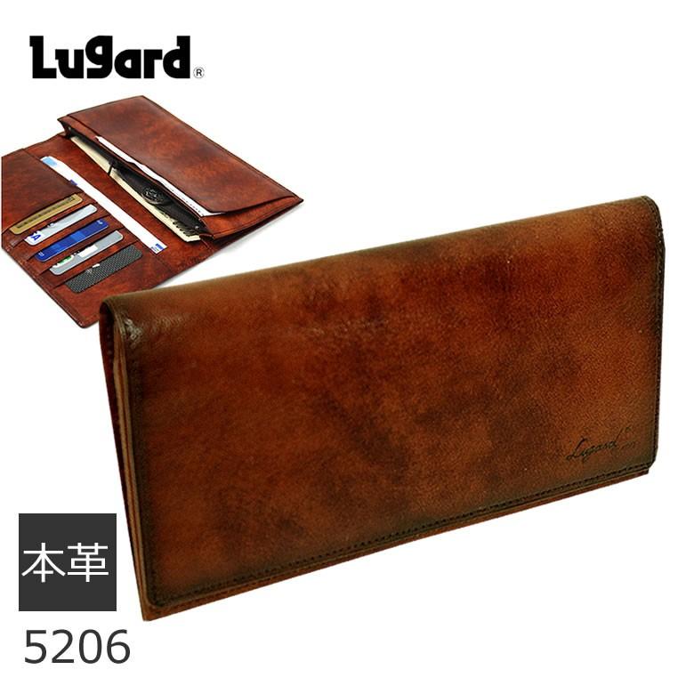 Lugard 牛革長財布